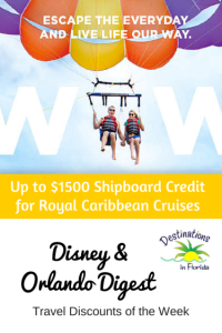 Disney and Orlando Travel Deals